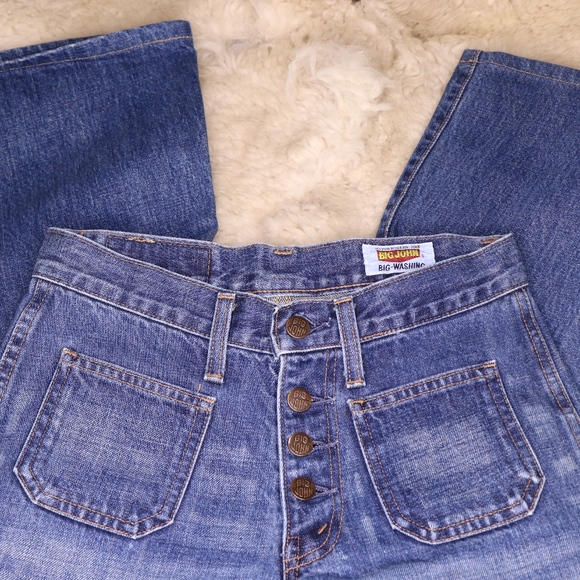 ab385779 Vintage Jeans | Big John Bell Bottoms | Poshmark